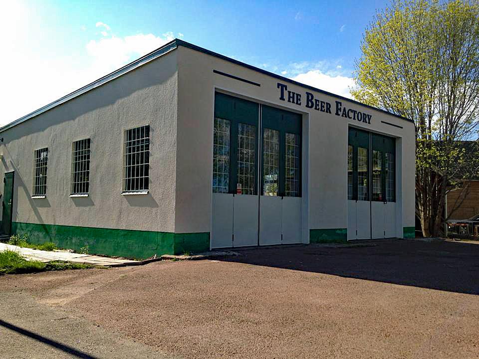 Bild på mikrobryggeriet The Beer Factory i Leksand, Dalarna